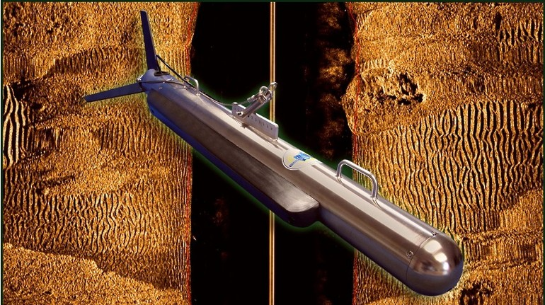 Fig.1. Image of the HMS-624 Side Scan Sonar for deep depth prospection  (image courteously provided by FSI)
