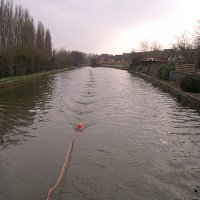 Marine Resistivity survey conducted on a British canal to determine breaches in the clay  lining.