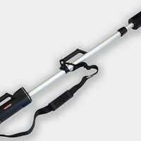 The GT-32 can be supplied with a 2m Telescopic arm to aid analyse difficult to access dykes in rock outcrops.