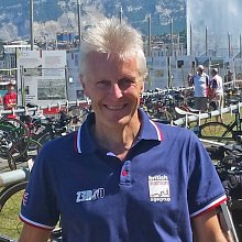 Chris Leech - Picture shows Chris at the European Triathlon championships in Geneva, July 2015