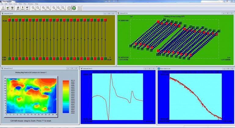 magmap2000 data visulisation windows