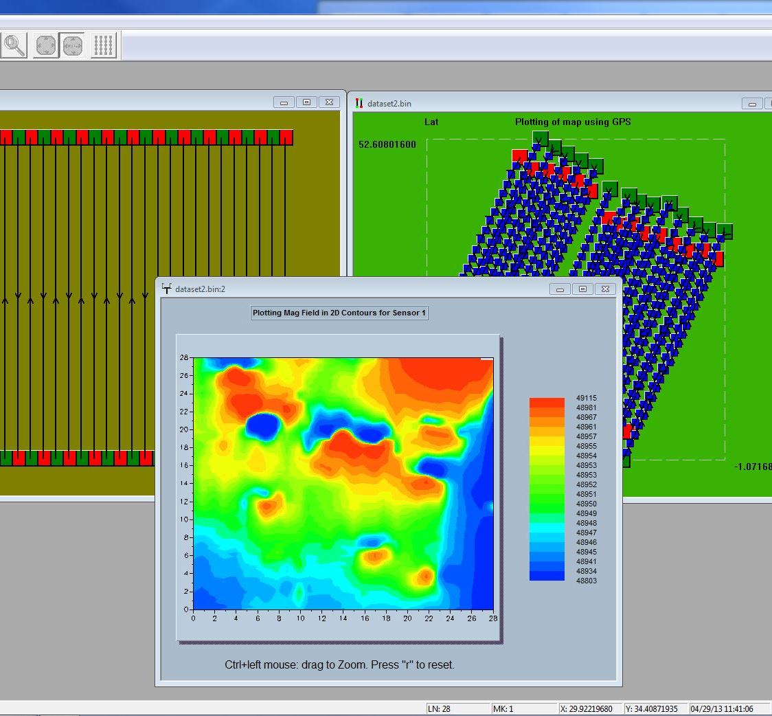 magmap2000 geophysical software